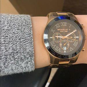 2 toned Micheal Kors Watch